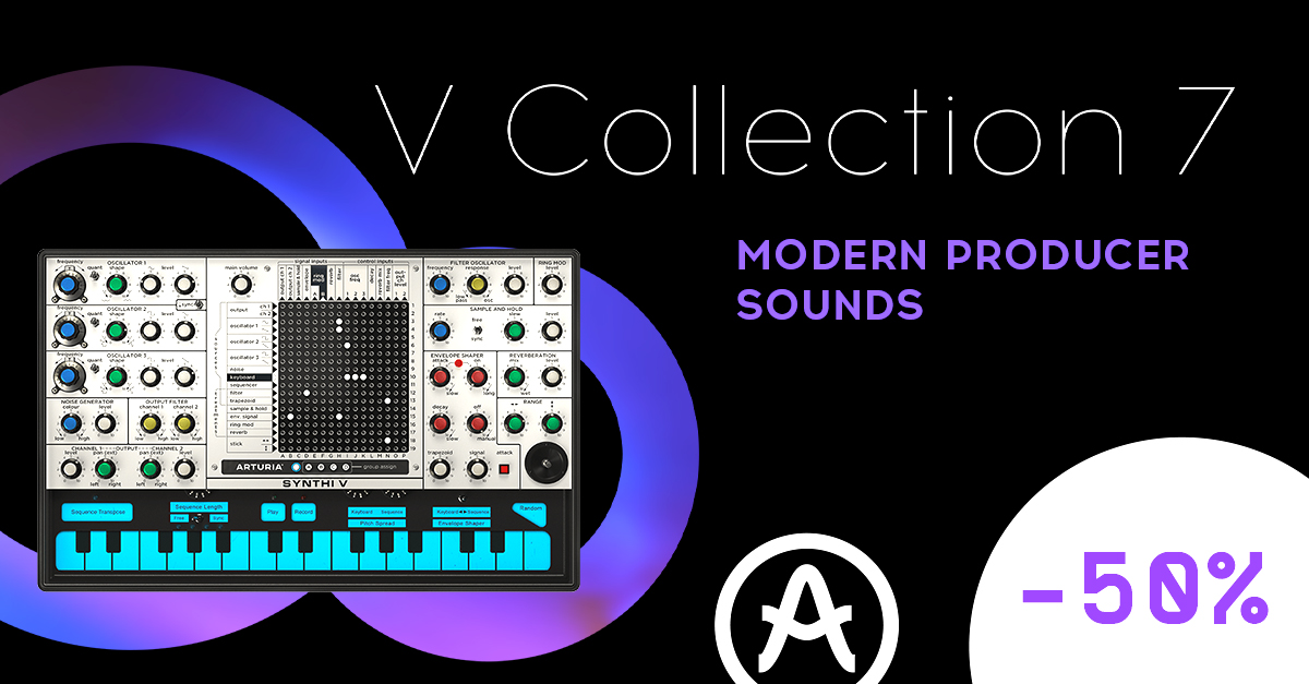 Arturia V Collection Promo