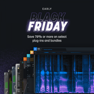 izotope holiday bundle early Black Friday
